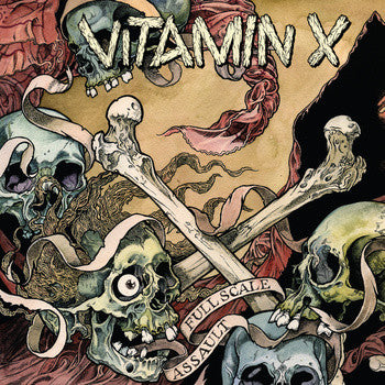 Vitamin X 'Full Scale Assault' CD