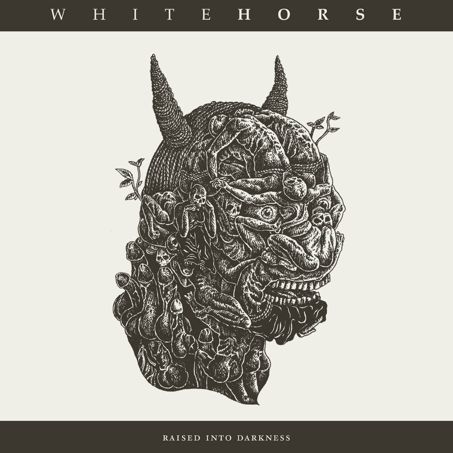 "Whitehorse 'Raised Into Darkness' 12"" LP"