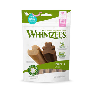 [Buy2Free1] Whimzees Puppy All Natural Daily Dental Treats for Dogs (2 sizes)