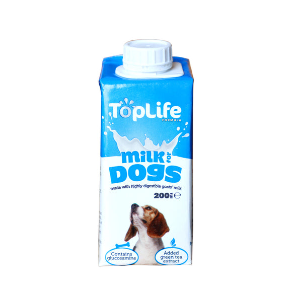 [1carton=18pack] TopLife Milk for Dogs (200ml)