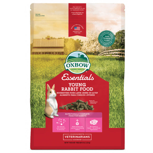 Oxbow Essentials Young Rabbit Food (2 sizes)