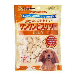 [DM-Z0803] DoggyMan Healthy Biscuit with Milk for Dogs (200g)