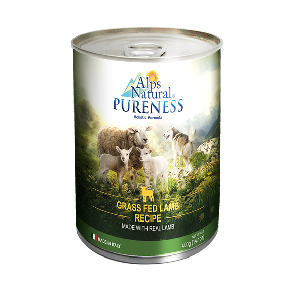 [ALP1258] Alps Natural Pureness Grass Fed Lamb Canned Food for Dogs (400g)