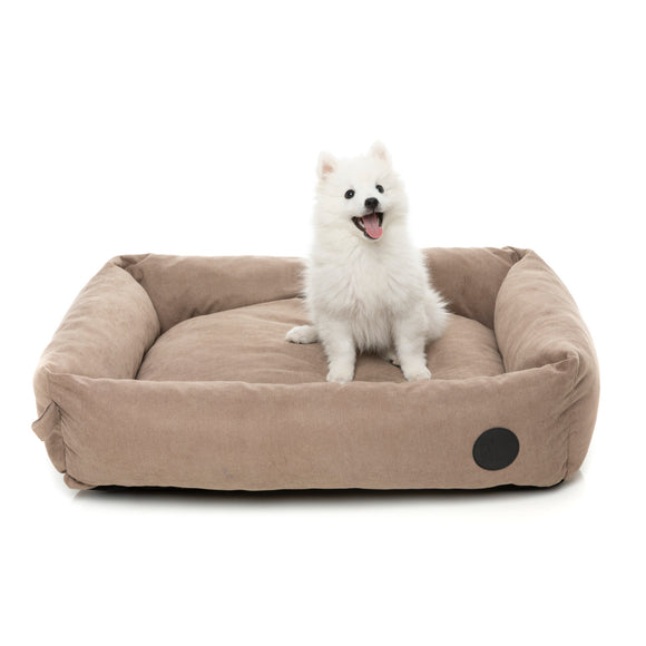 Fuzzyard The Lounge Bed for Pets (Mocha) 3 sizes