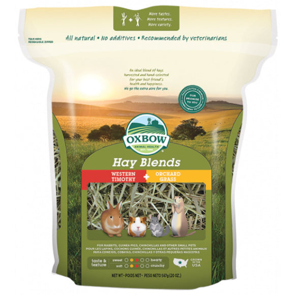 Oxbow Western Timothy & Orchard Grass Hay Blends (2 sizes)