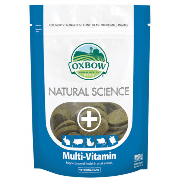 [O324] Oxbow Natural Science Multi-Vitamin (120g)