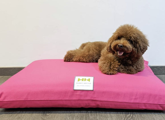 Henry Hottie Orthopedic Pet Beds - Pink (3 sizes)