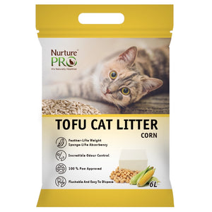 Nurture Pro Corn Tofu Cat Litter (6L/pack)