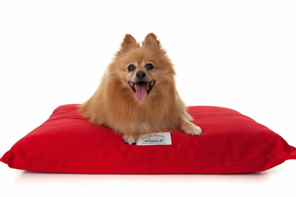 Henry Hottie Orthopedic Pet Beds - Red (4 sizes)