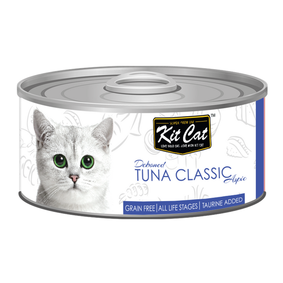 [1carton] Kit Cat Topper Series Canned Food (Tuna Classic) 80g x 24cans