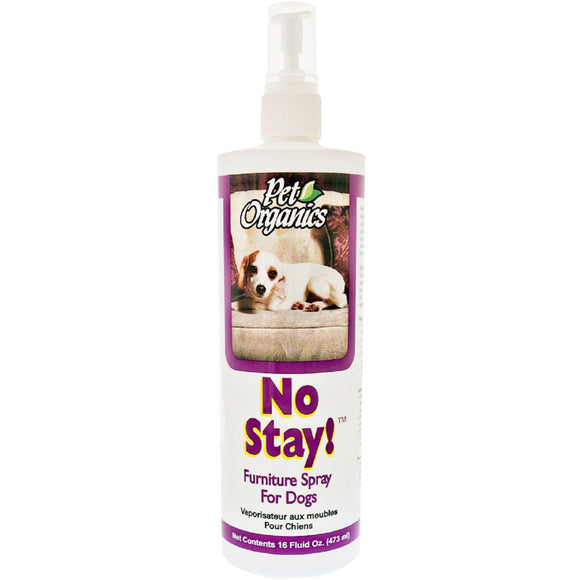 [PO504416] NaturVet Pet Organics No Stay! Furniture Spray for Dogs (16floz/473ml)