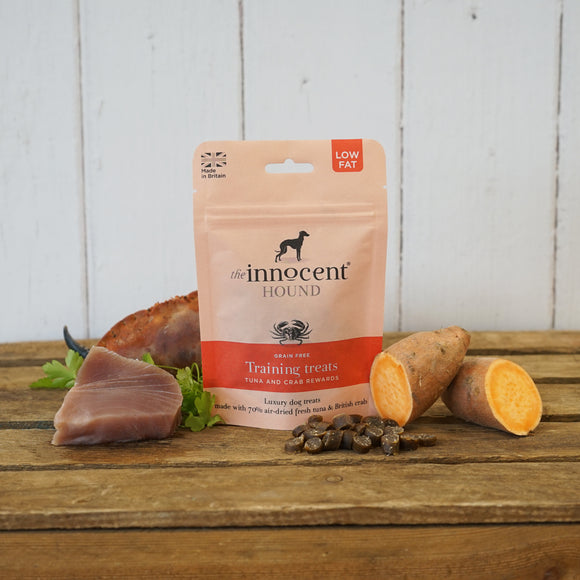 [1110] The Innocent Pet | The Innocent Hound Training Treats - Tuna & Crab Rewards (70g)