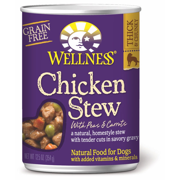 [WN-STCHIC] Wellness Chicken Stew (Grain-Free) 12.5oz