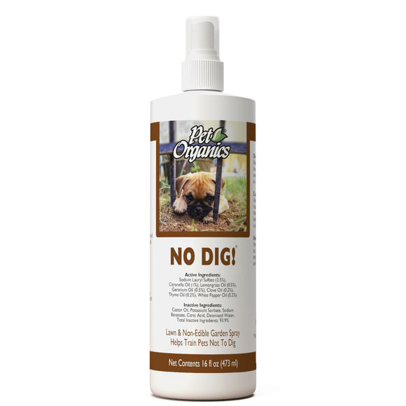 [PO514616] NaturVet Pet Organics No Dig! Lawn & Yard Spray (16floz/473ml)