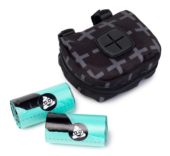 FuzzYard Poop Dispenser Bag + 2 Poop Rolls (Yeezy)