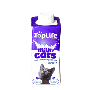 [1carton=18pack] TopLife Milk for Cats (200ml)