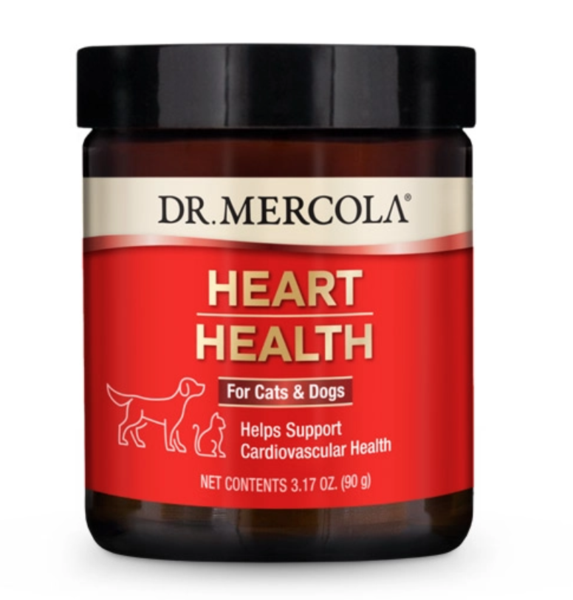 Dr. Mercola's Heart Health for Dogs & Cats (90g)