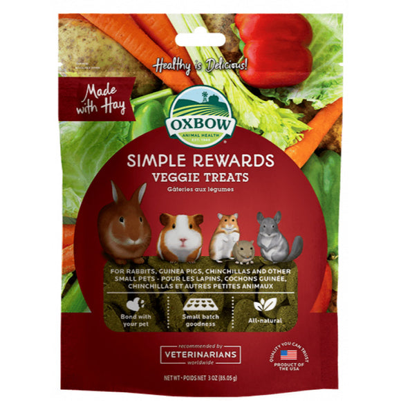 [O414] Oxbow Simple Reward Veggies Treats (85g)