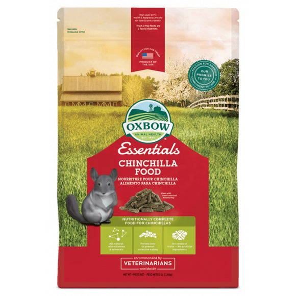 Oxbow Essentials Chinchilla Food (2 sizes)