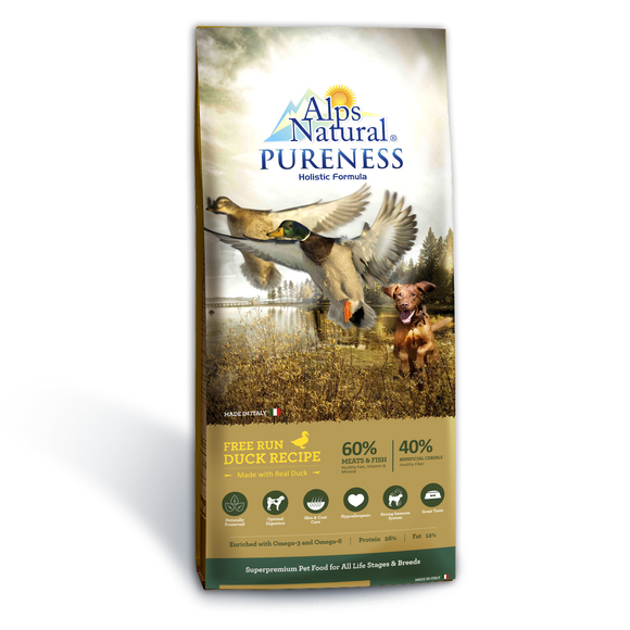 [ALP-1364] Alps Natural Free Run Duck Dry Food for Dogs (13kg)