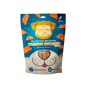 Awesome Pawsome SALMON SUPREME Dog Treats (3oz/85g)