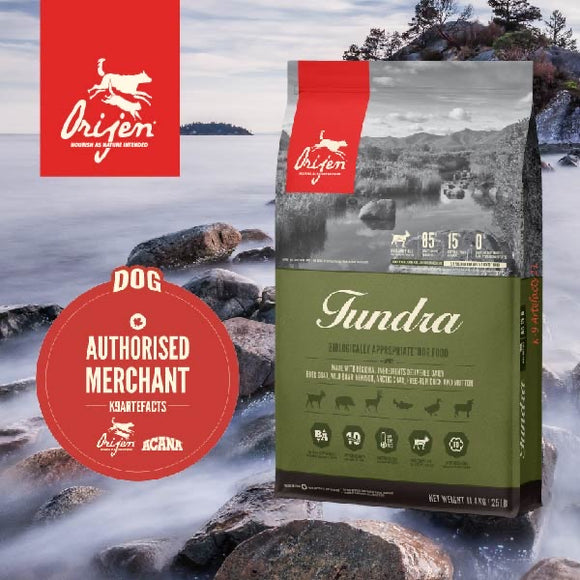 Orijen Tundra Dry Food for Dogs (3 sizes)