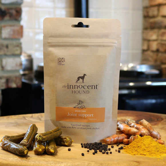 [1106] The Innocent Pet | The Innocent Hound Joint Support Sausages with Turmeric and Black Pepper for Dogs (10pcs)