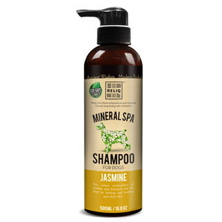 Reliq Mineral Spa Shampoo for Dogs (Jasmine) 500ml
