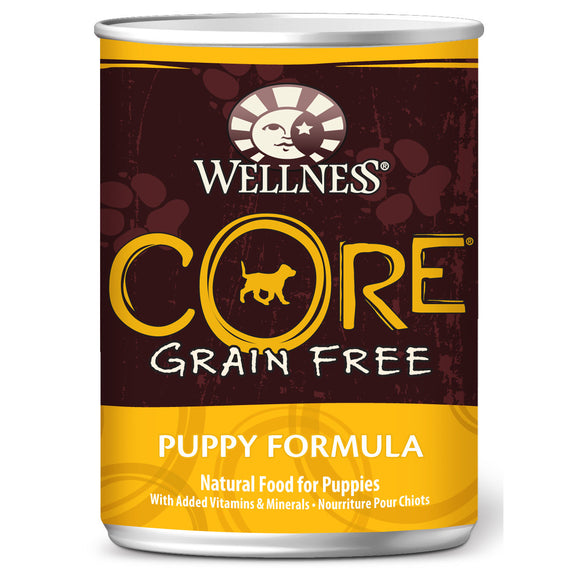 [WN-CanCorePup] Wellness Core Grain Free Puppy Canned Dog Food (12.5oz)