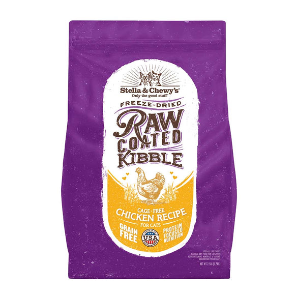 Stella & Chewy's Raw Coated Kibble Cage-Free Chicken Recipe (2 sizes)