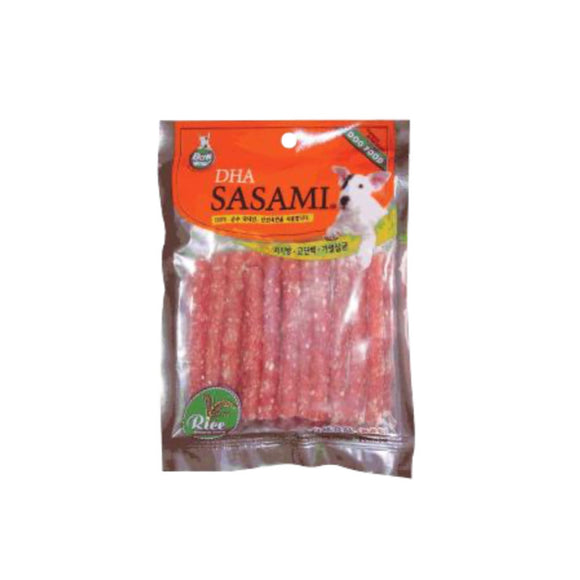 [BW1041] Bow Wow Chicken Rice Sasami Stick Treats for Dogs (100g)