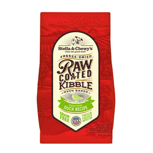 Stella & Chewy's Freeze-Dried Cage-Free Duck Raw Coated Kibble (2 sizes)
