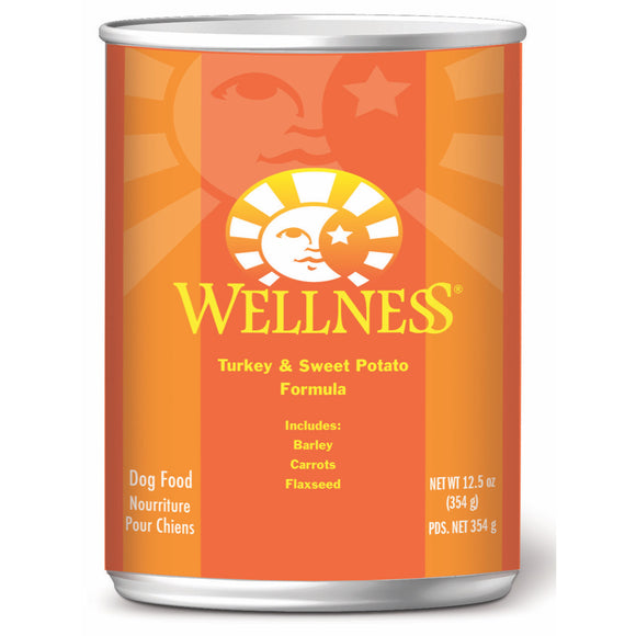[WN-CanTurkey] Wellness Complete Health Pate Turkey & Sweet Potato Canned Food for Dogs (12.5oz)