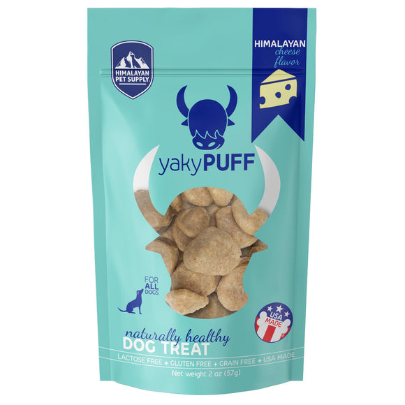 Himalayan Pet Supply yakyPUFF Cheese Dog Treats (57g)