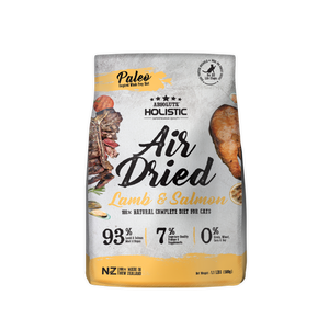 Absolute Holistic Air Dried Dry Food (Lamb & Salmon) for Cats (500g)