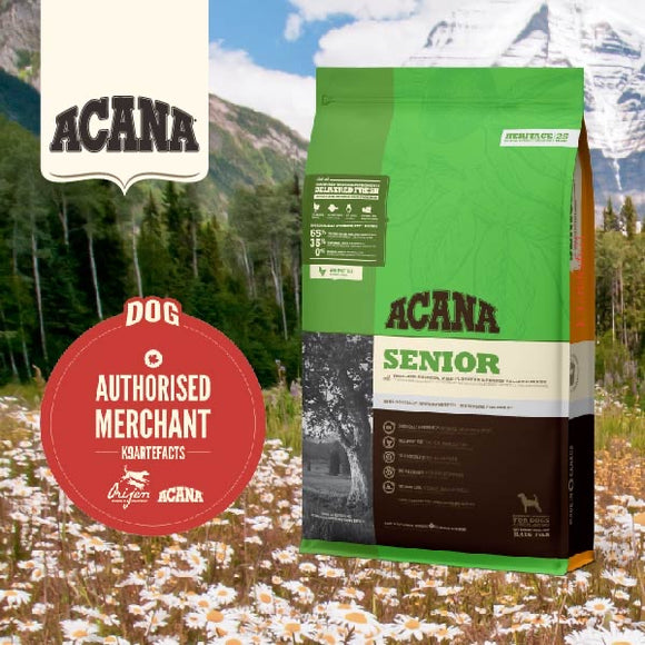 Acana Heritage Senior Dry Food for Dogs (3 sizes)