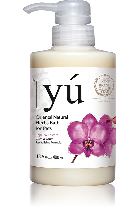 YÚ Oriental Natural Orchid Youth Revitalizing Formula Shampoo (400ml)