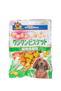 [DM-82280] DoggyMan Bowwow Soft Biscuit with Vegetables for Dogs (120g)
