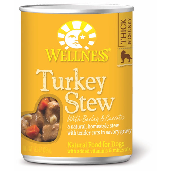 [WN-STTurk] Wellness Turkey Stew (12.5oz)