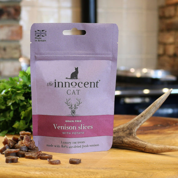 [2102] The Innocent Cat Venison Slices (70g)