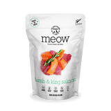 NZ Natural MEOW Freeze Dried Raw Food for Cats (Lamb & King Salmon) 2 sizes
