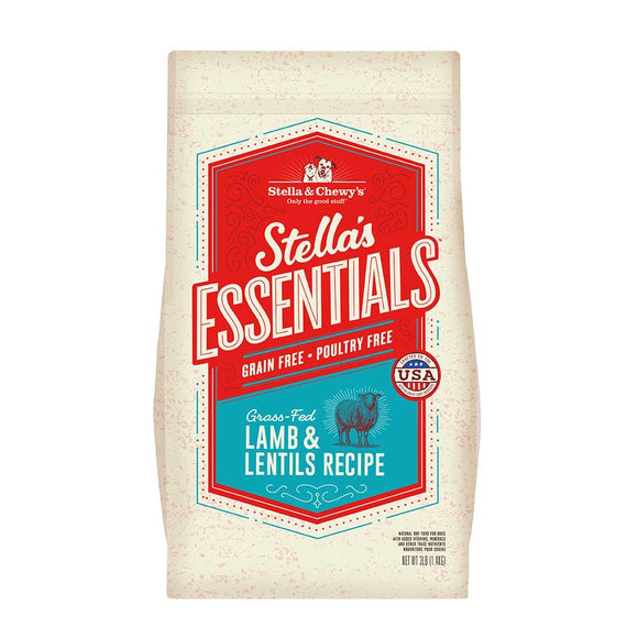 Stella & Chewy's Stella's Essential Grain-Free Grass-Fed Lamb & Lentils Recipe (2 sizes)