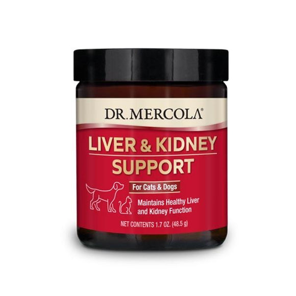 Dr. Mercola's Liver & Kidney Support for Pets (48.5g)