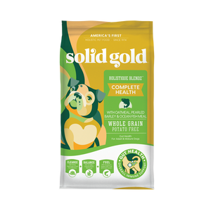 Solid Gold Holistique Blendz Oatmeal, Pearled Barley & Ocean Fish Recipes Dry Food for Dogs (2 sizes)