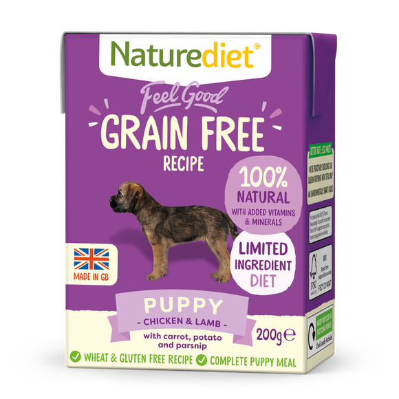 [Buy3free1] Naturediet Feel Good Grain Free Wet Food for Dogs (Puppy) 2 sizes