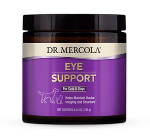 Dr. Mercola Eye Support Supplement for Pets (180g)
