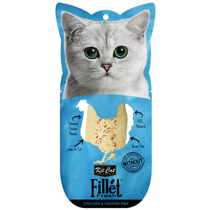 [KC-799] Kit Cat Fillet Fresh Chicken & Smoked Fish Treats