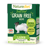 [Buy3free1] Naturediet Feel Good Grain Free Wet Food for Dogs (Lamb) 2 sizes