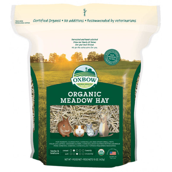 [O61] Oxbow Organic Meadow Hay (15oz)