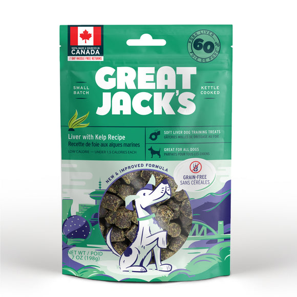 Canadian Jerky Great Jack's Liver with Kelp Recipe (7oz / 198g)